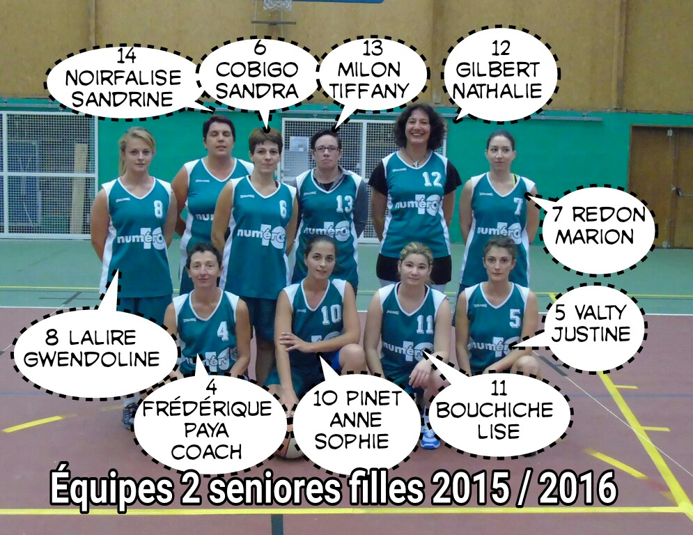 nouvelle  u00e9quipe seniores 2 sauxillanges 2015   2016   club